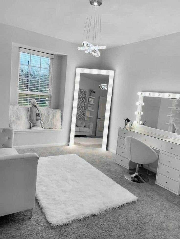 آینه لامپی ( آینه هالیوودی )